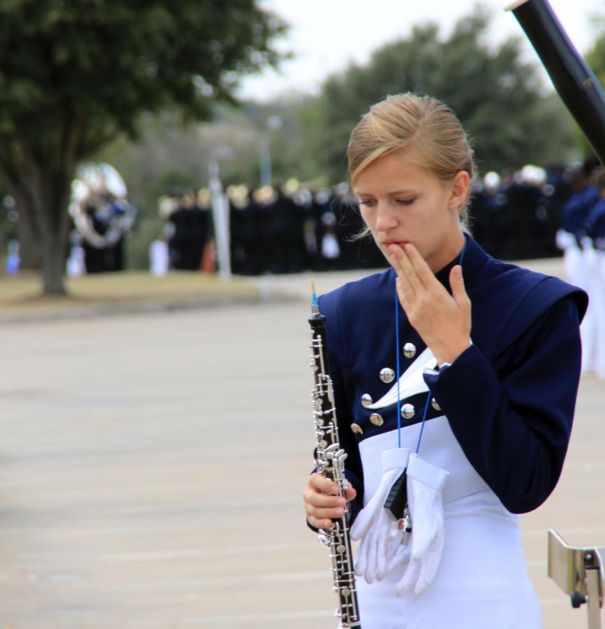 Band performs at UIL competition