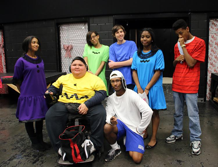 The cast will perform Charlie Brown Christmas as one feature in their Christmas production. (Photo by: Celestin Garcia)