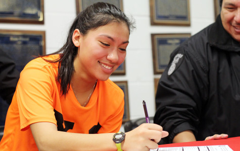 Cross country athlete signs with future school