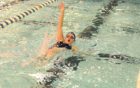 Swimming team face off with Cedar Hill