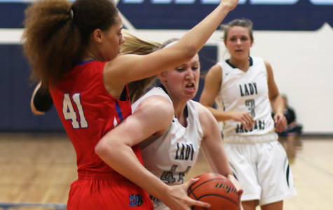 Varsity basketball girls defeats Flower Mound