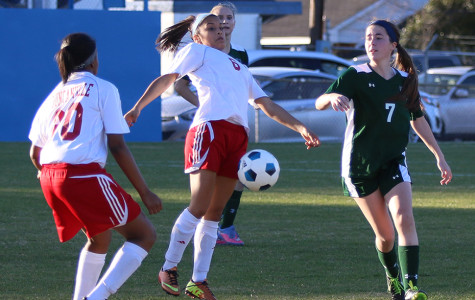 Girls Soccer team looking to move to top spot in district play
