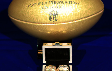 Ray Crockett presents the NFL Gold Ball