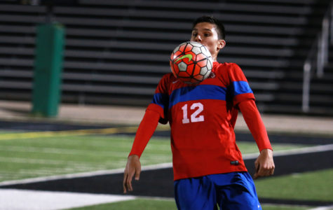 Varsity soccer boys lose tough game to McKinney Boyd