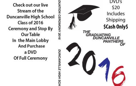 Graduation live Streamed tonight