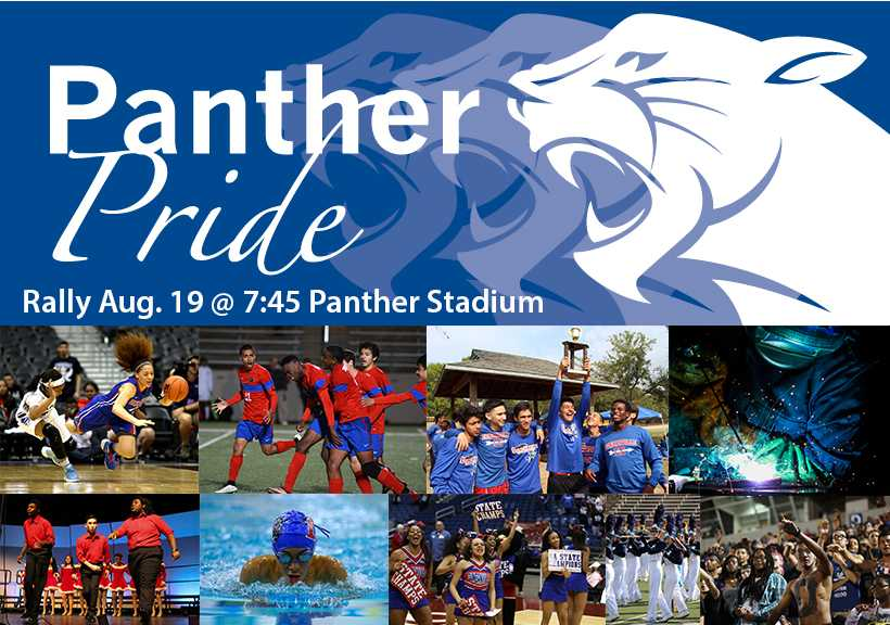 Panther+Pride+rally+to+bring+together+school%2Ccommunity+Aug.+19