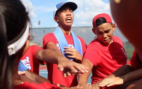 Varsity Tennis crushes Crowley