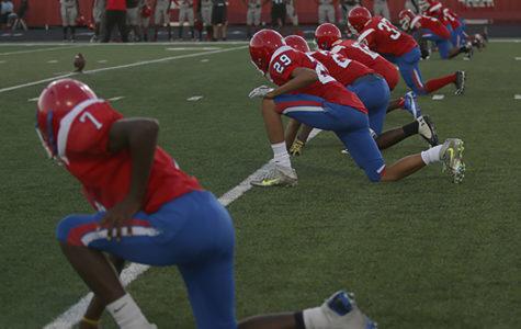 Jv Football goes against Cedar Hill