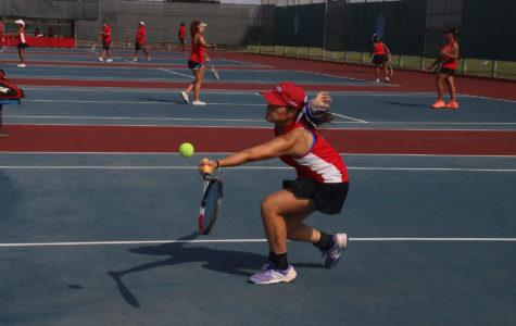 Varsity Tennis dominates Cedar Hill