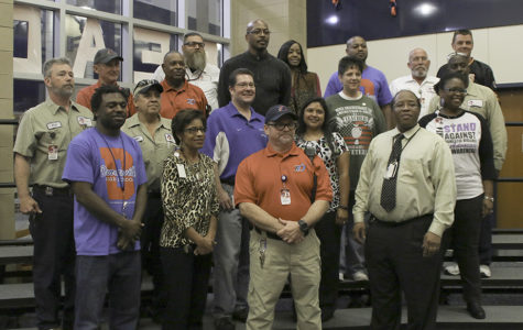 Veterans were honored for their service at a recent luncheon. (Sulema Pineda photo)