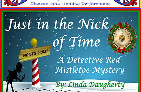 Theatre presents Christmas whodunit 'Just In The Knick Of Time' Dec. 13-16