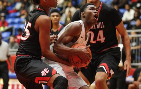 Varsity Basketball boys lost against Cedar Hill