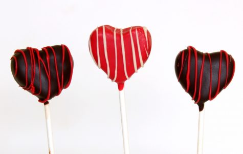 Heart Shaped Cake Pop's