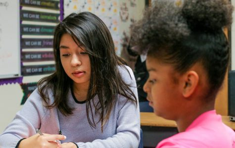 Students become teachers for a day