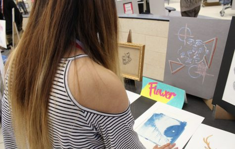 Students showcase their talent in the art show