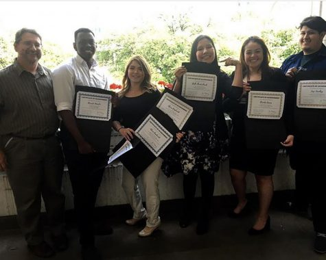 High School Heroes adopt their Junior Executives from Bilhartz Elementary