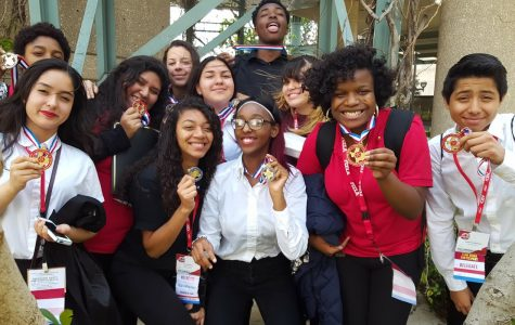 FCCLA Winners. Photo submitted by Ms. Baker