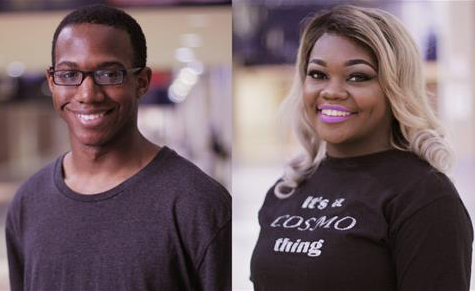 Left: Chris Hall and Right: Remy Simpson will be receiving their Associates Degrees from Dallas Mountain View College two weeks prior to DHS's graduation.