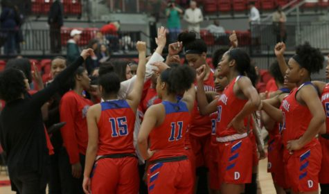 Pantherettes push past Allen to advance to Region 1 tournament