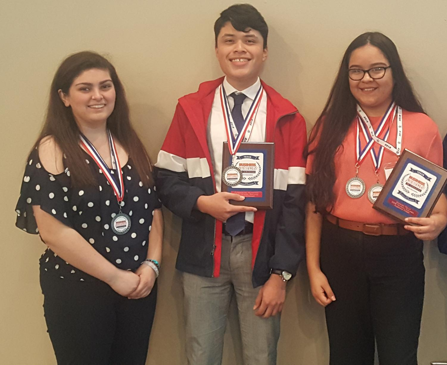 The above BPA students are part of the group advancing to Nationals in May.