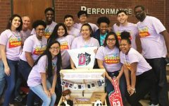 Stuco with their winning entry.
