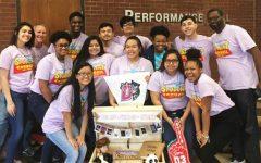 Student Council wins award.