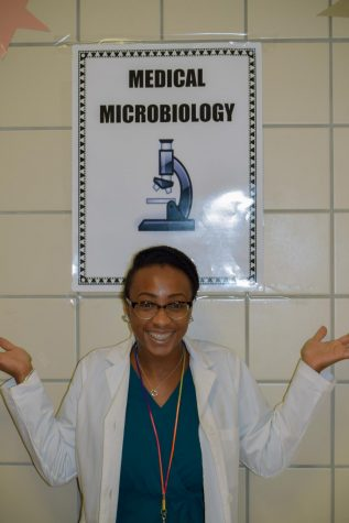 Teacher Of The Week: Mrs. McCoy's Health Science Class at Work!