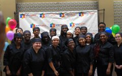 Culinary Students serve in Multicultural event on 9/27