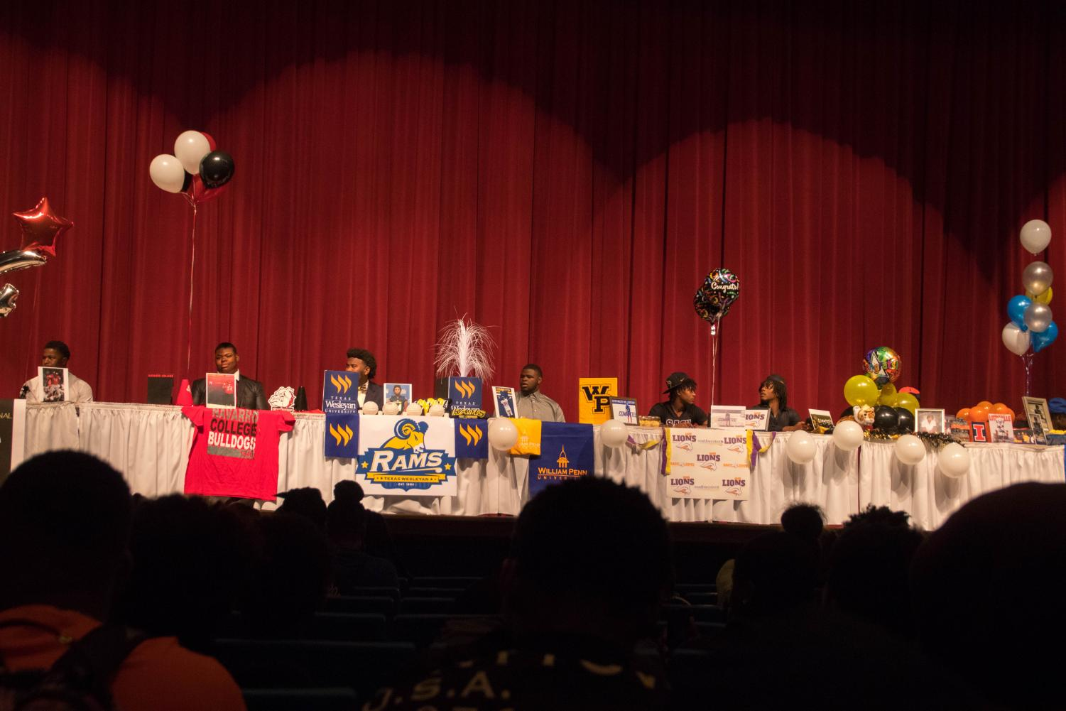 Duncanville Football Signees