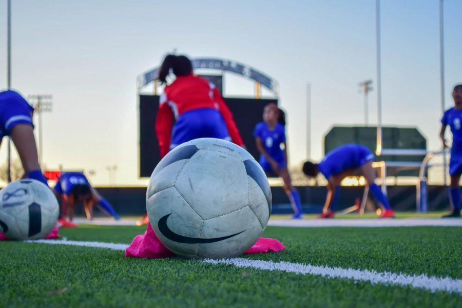 Duncanville High Girls JV Soccer Game
