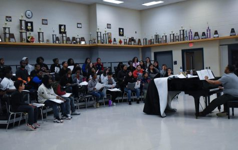 Choir Practices for Upcoming UIL Competition