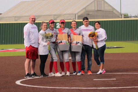 Softball Senior Night